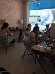 Interns at Work